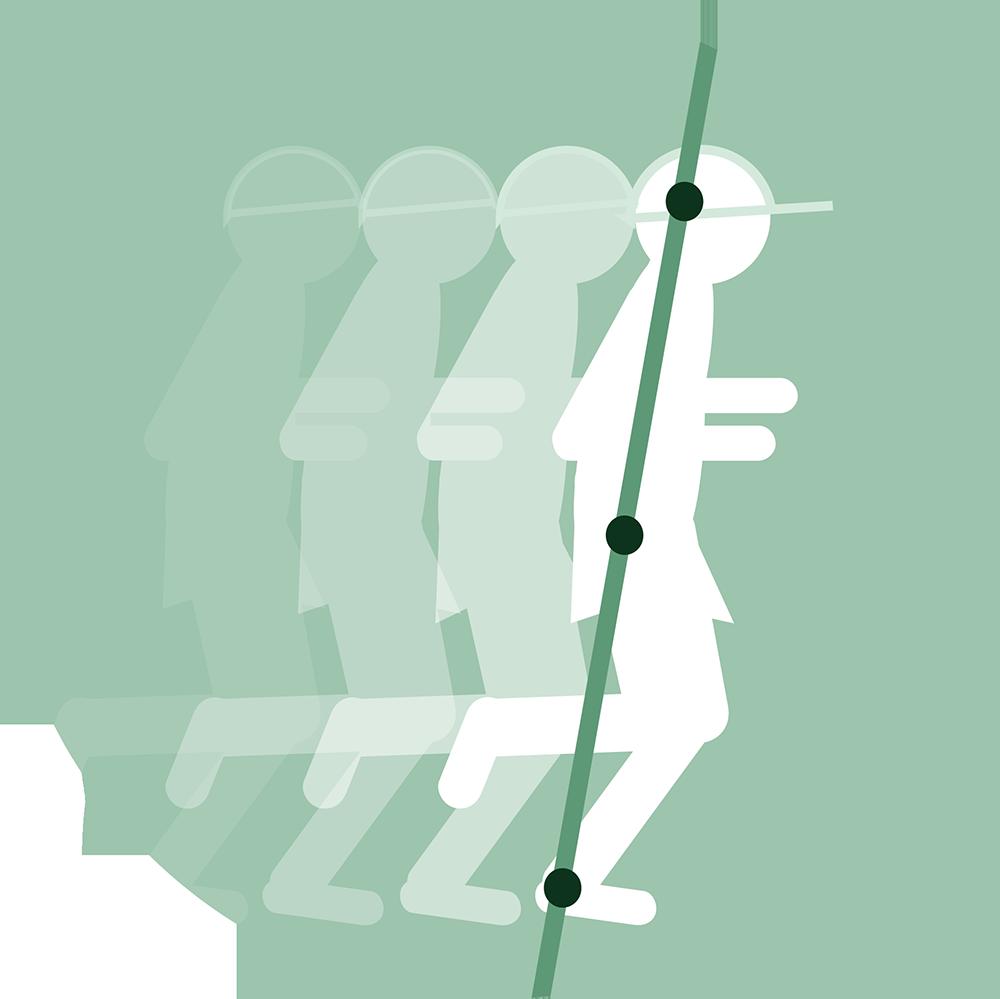 Logo Loop Hard met Bas-Jan