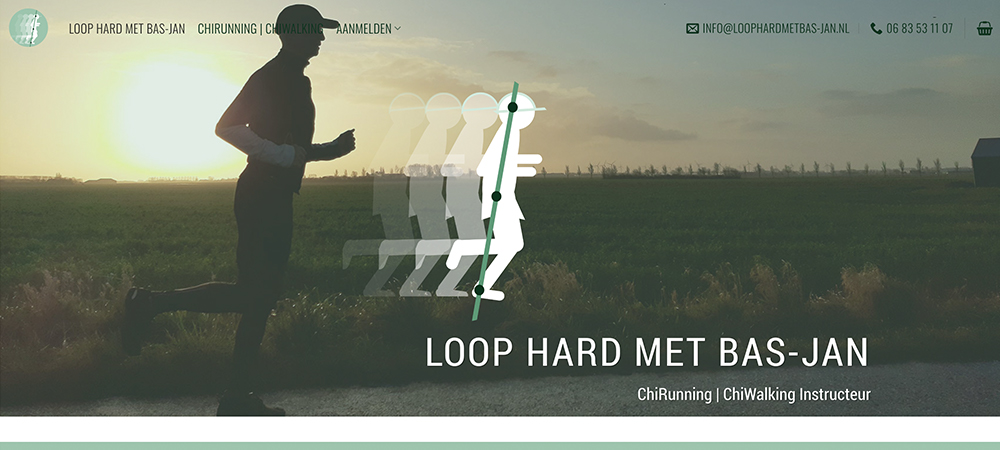 Website_Loop hard met Bas-Jan