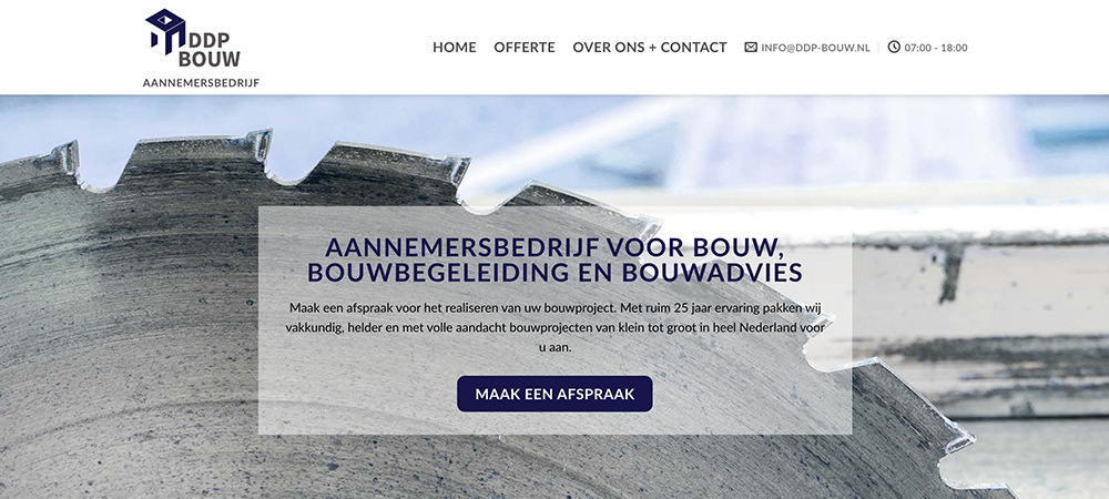 Webdesign-ddp-bouw